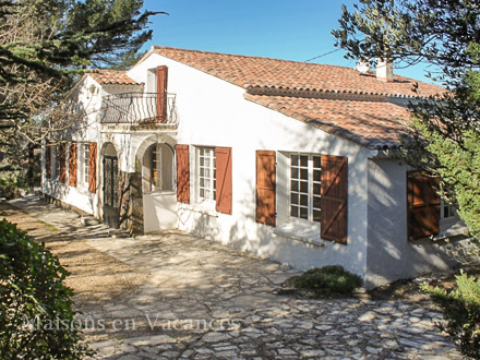 The villa of the holiday rental Villa at Lorgues ,Var