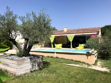 Detached villa in Lirac