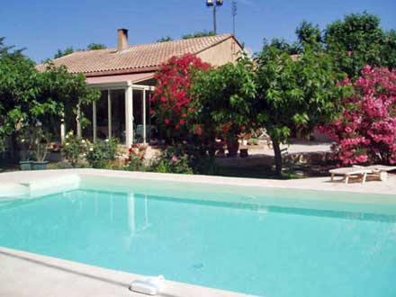 Detached villa in Le Thor